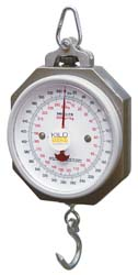 KHS Industrial Dial Hanging Scale with 540 pound capacity