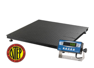 NTEP approved floor scale