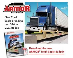 cardinal armor truck scale