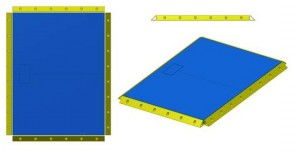 bumper guards for weigh-tronics prodec floor scale