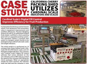 fruit packing scales