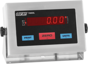 doran 7000xlm weight meter