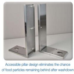 uwe ps2 scale designed for food safety