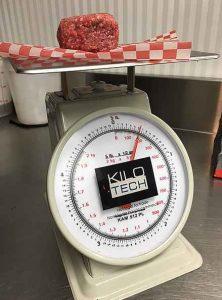 countertop dial scale
