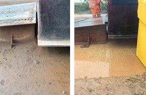 truck scale dirt buildup causing errors