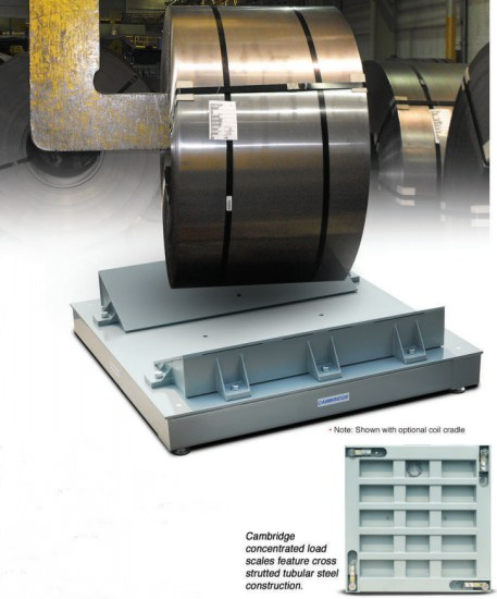 steel coil weigh scale