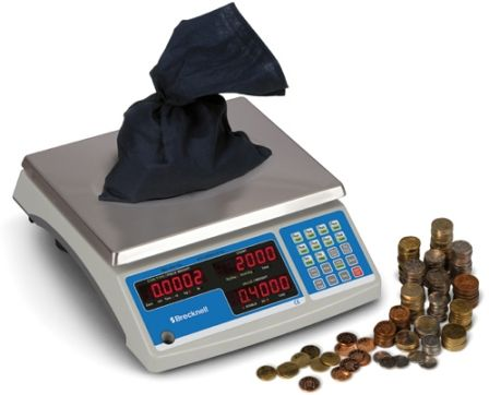 60 lb capacity coin counting scale