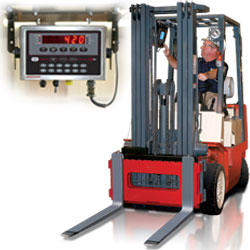 Rice Lake Fork Lift Scale