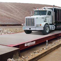 Rice Lake SURVIVOR OTR Concrete Deck Truck Scale
