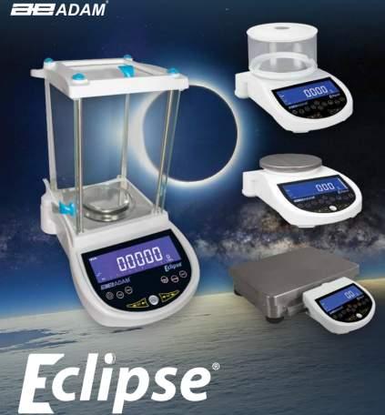 adam equipment eclipse analytical balance family