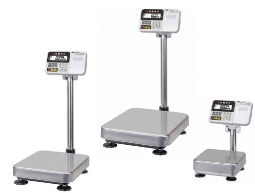 a&d hv-c bench scales with lcd displays