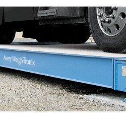 Avery Weigh-Tronix BMC HD Concrete Deck Truck Scale