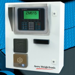 Avery Weigh-Tronix ZM Kiosk Vehicle Scale Controls