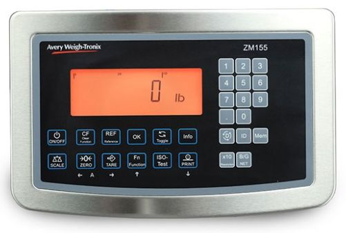 weigh-tronix zm155 intrinsically safe weight indicator