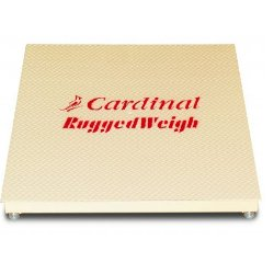 cardinal scale ruggedweigh 4x4 floor scale