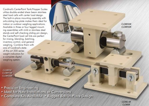 cardinal centerpoint tank and hopper scale load cell kit