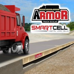 Cardinal Armor Portable Truck Scale with Digital SmartCells