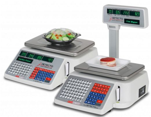 detecto dl series retail scales with built in label printer