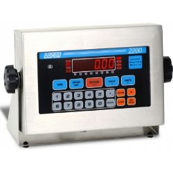 doran 2200 digital weight indicator with relays