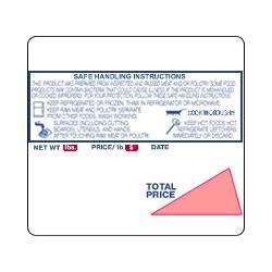 Ishida Safe Handling Scale Label 2.52