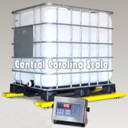 Pennsylvania U6600 Series Low-Profile Bulk Container Scale
