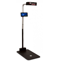 dim weight scanning device
