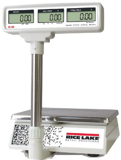 rice lake rs-160 with pole display