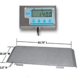 Brecknell PS1000 Basic Floor Scale