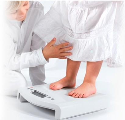 seca 354 digital medical scale for weighing toddlers