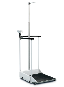 seca 644 handrail scale with optional height rod