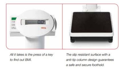 seca 769 medical scale features