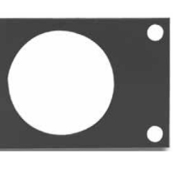 Floor Scale Mounting Plate