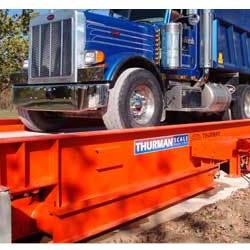 Thurman 8140 Mechanical Low Profile Steel Deck Truck Scale