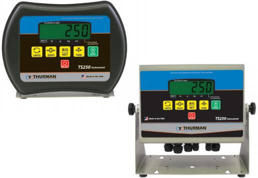 thurman scale ts250 weight readout