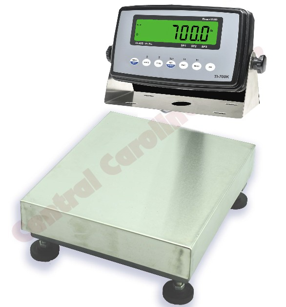 NTEP certified fishing scale system