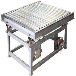 Tufner Weighing Systems Roller Deck Conveyor Scale