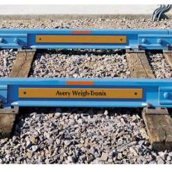 Avery Weigh-Tronix WeighLine RailRoad Track Scale