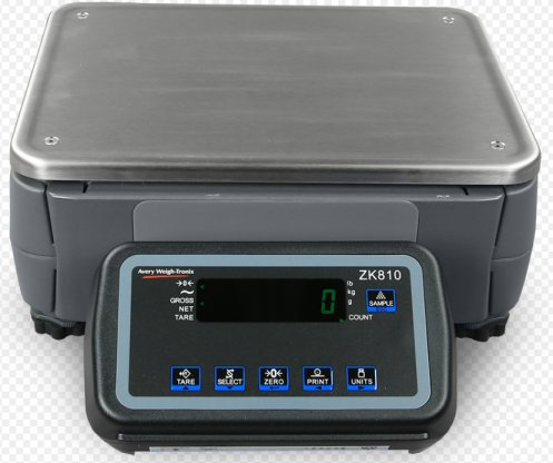 weigh-tronix zk810 industrial counting scale