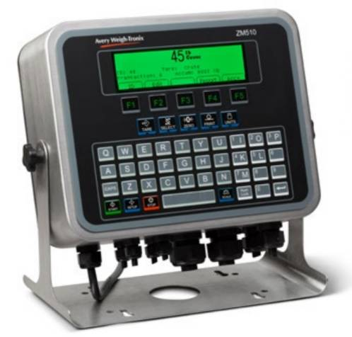 weigh-tronix zm510 scale controller