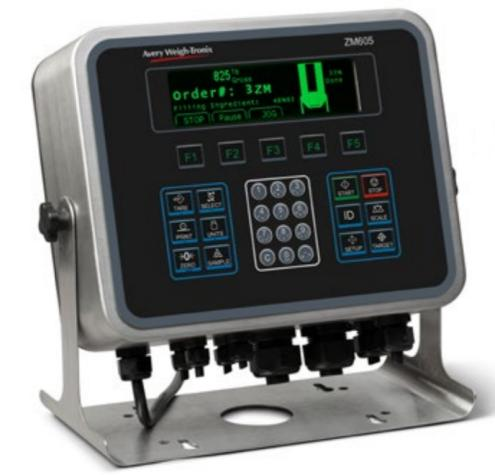 weigh-tronix zm605 scale readout