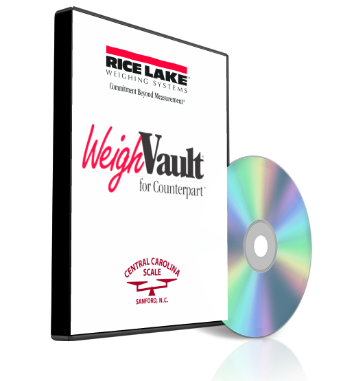 weighvault computer software for inventory scale